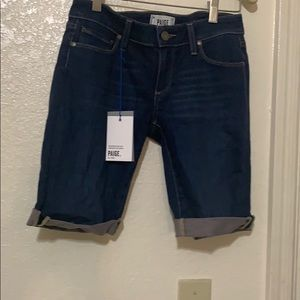 NWT PAIGE jeans shorts